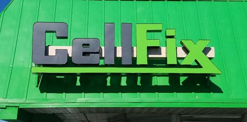 Cell Fix LED Channel Letters